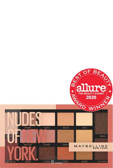 Maybelline - Nudes of New York Eyeshadow Palette