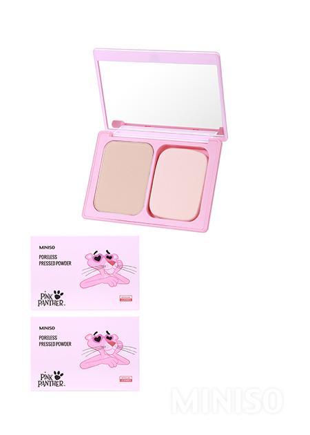MINISO Australia - The Pink Panther---Poreless Pressed Powder(02 Beige) - MINISO Australia
