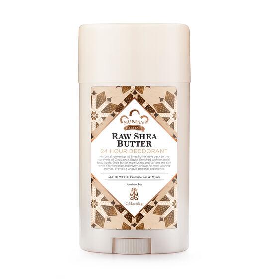 www.nubianheritage.com - Raw Shea Butter 24 Hour Deodorant