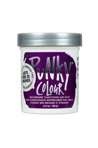 www.punky.com - Punky Colour, Semi-Permanent Conditioning Hair Color, Purple, 3.5. fl oz