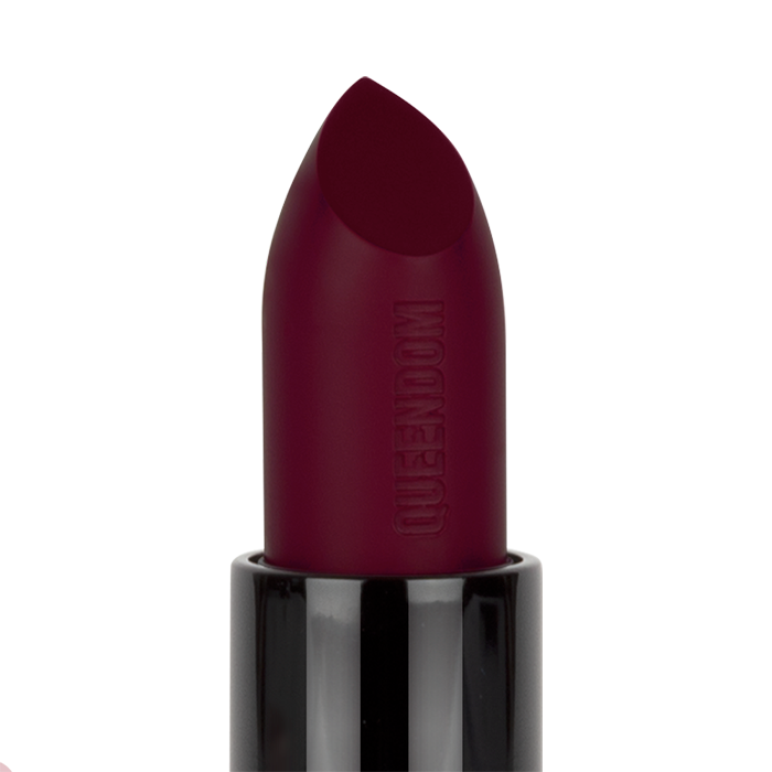 Queendom - Self Matte Woman Lipstick, Deep Plum
