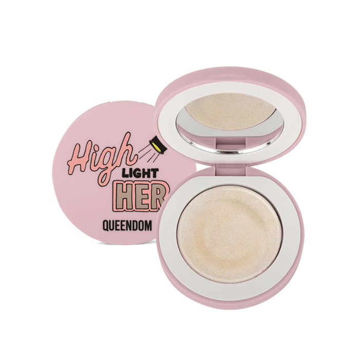 Queendom - Cream Highlight, Crystal Nude