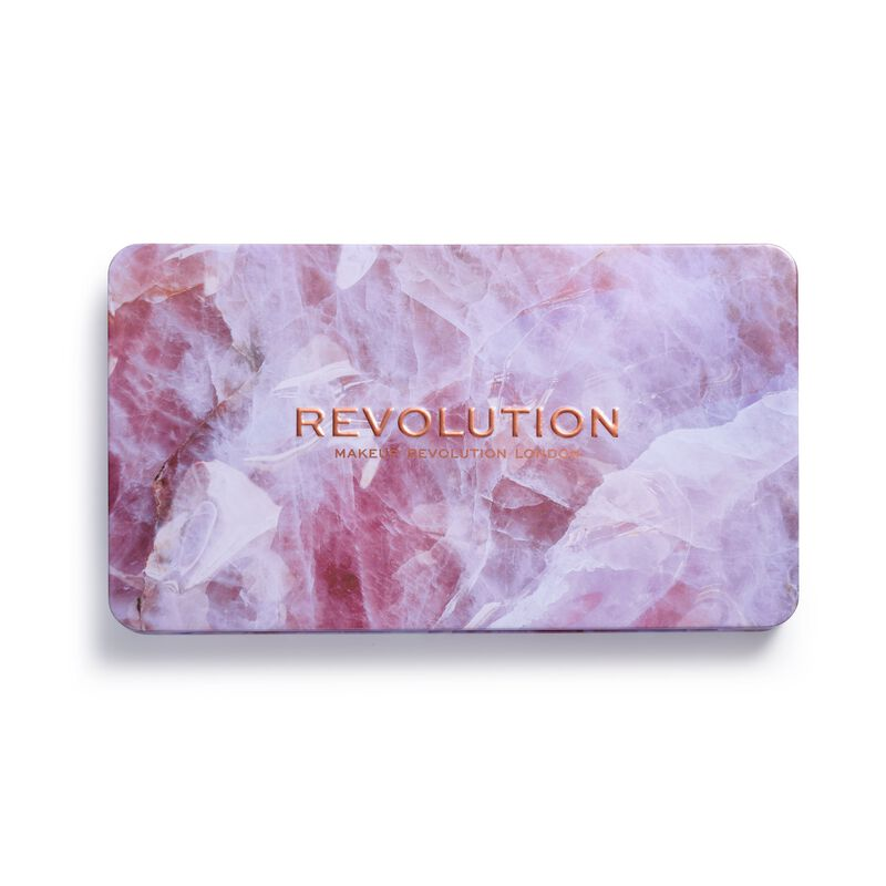 Product Brand Logo - Makeup Revolution Forever Flawless Unconditional Love Shadow Palette