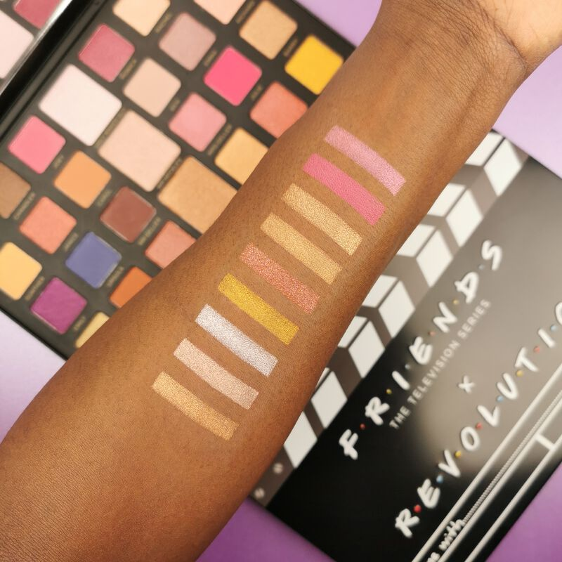 Product Brand Logo Makeup Revolution X Friends Flawless Limitless Eyeshadow Palette