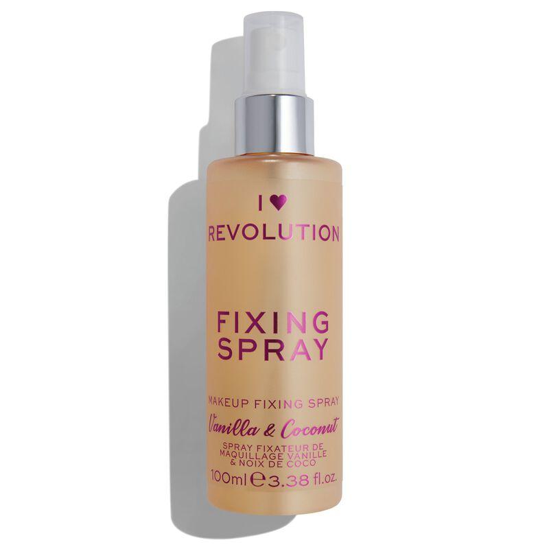 Revolution Beauty Reviews - I Heart Revolution Fixing Spray Vanilla Bean & Coconut