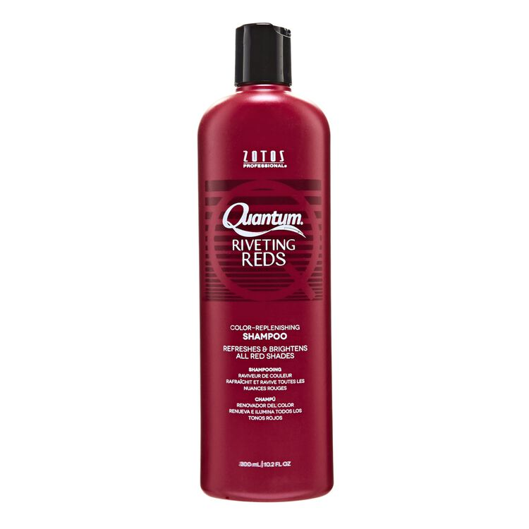 Quantum Riveting Reds Color Replenishing Shampoo
