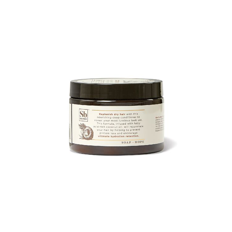 Soapbox Coconut Oil Rejuvenating Deep Conditioner Jar