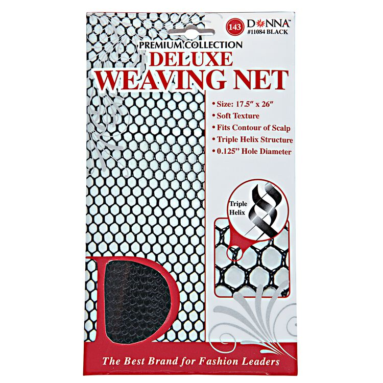 Donna - Black Deluxe Weaving Net