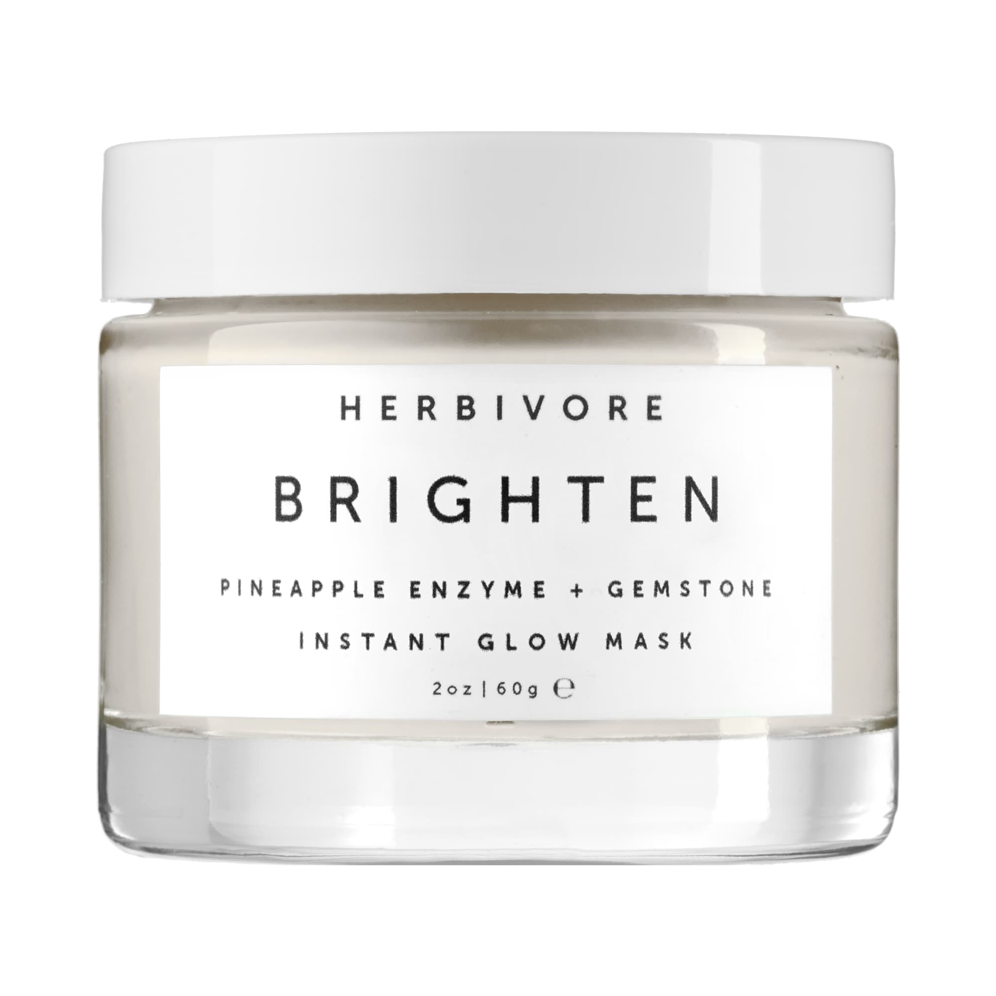 Herbivore - Brighten Pineapple Enzyme + Gemstone Instant Glow Mask