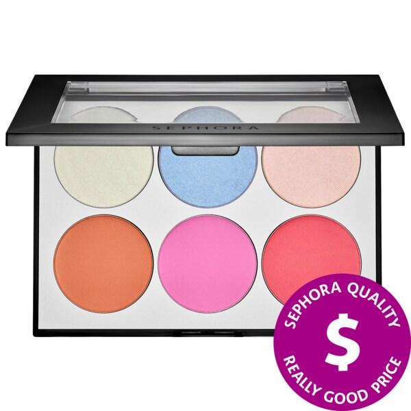 Sephora - Holographic Face & Cheek Palette