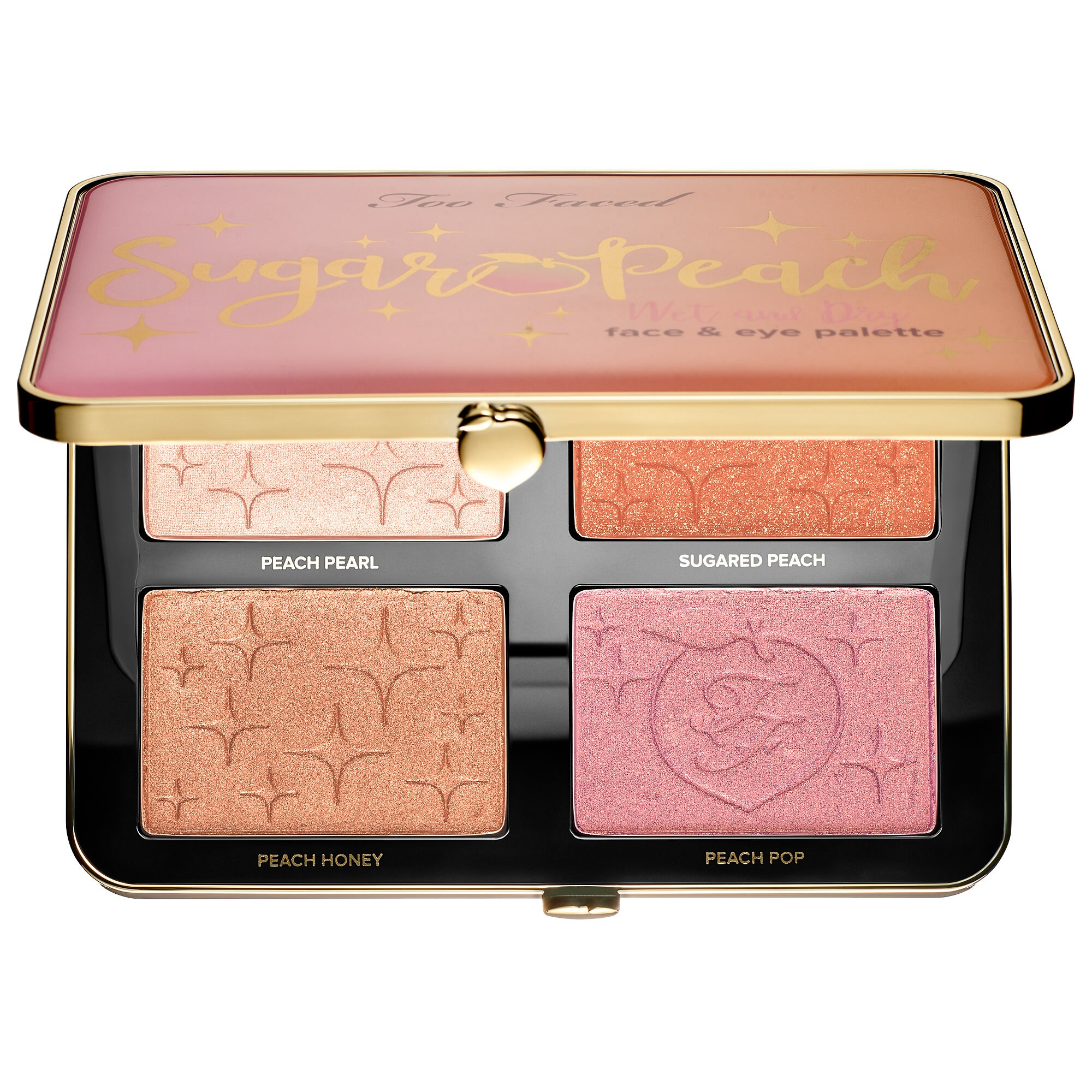 Toofaced Sugar Peach Face & Eye Palette - Peaches and Cream Collection