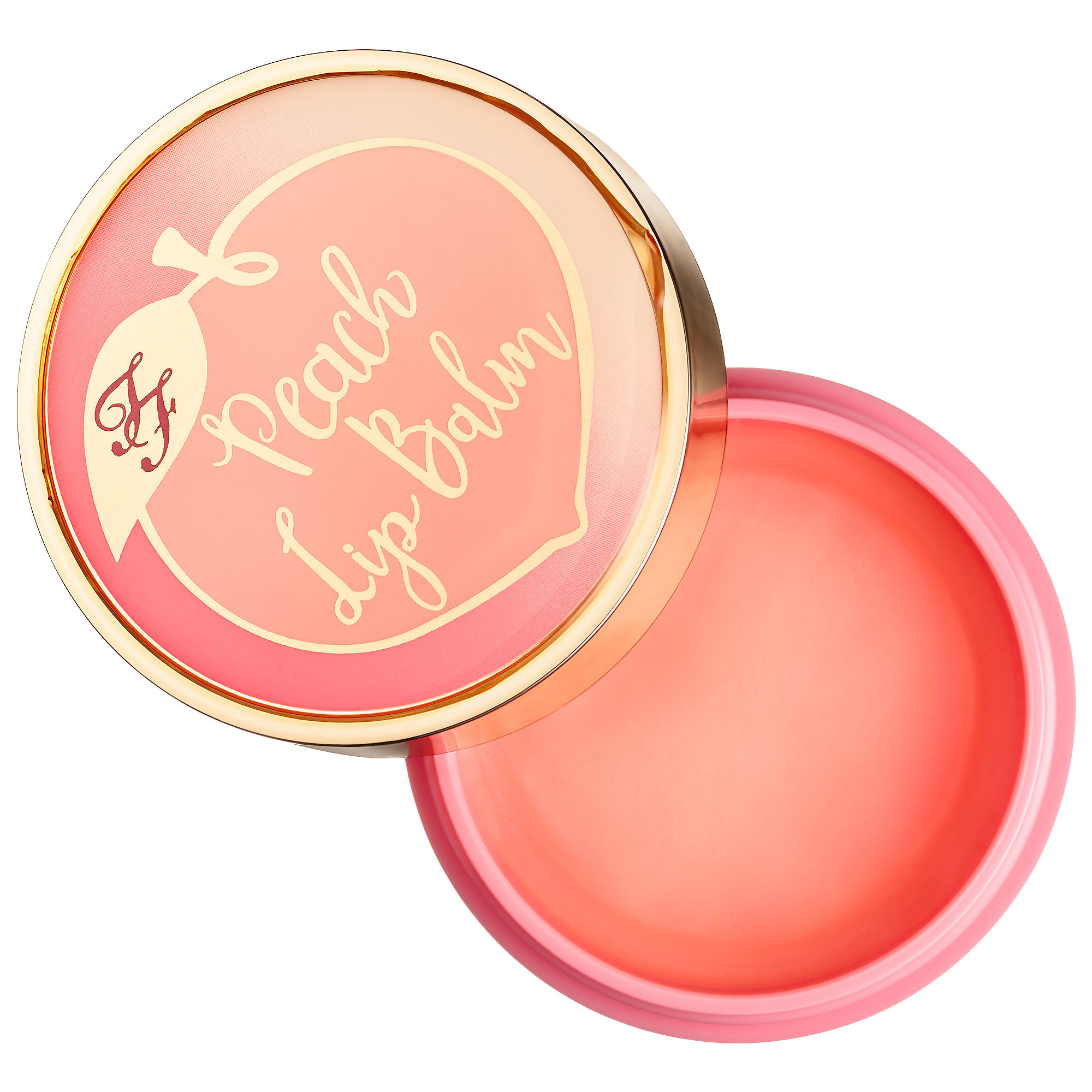Toofaced - Peach Mega Moisture Lip Balm - Peaches and Cream Collection