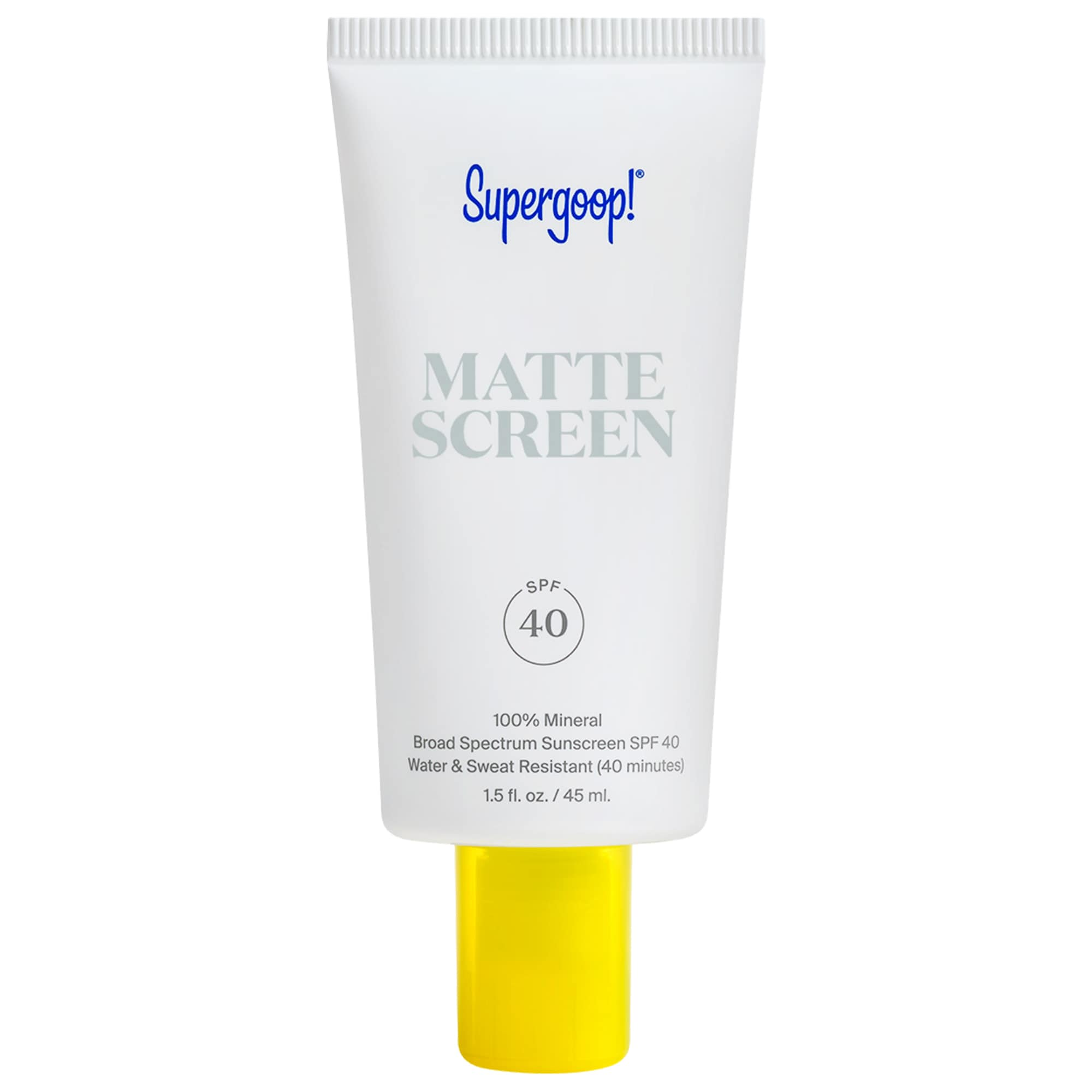 Supergoop! - 100% Mineral Smooth & Poreless Matte Screen SPF 40