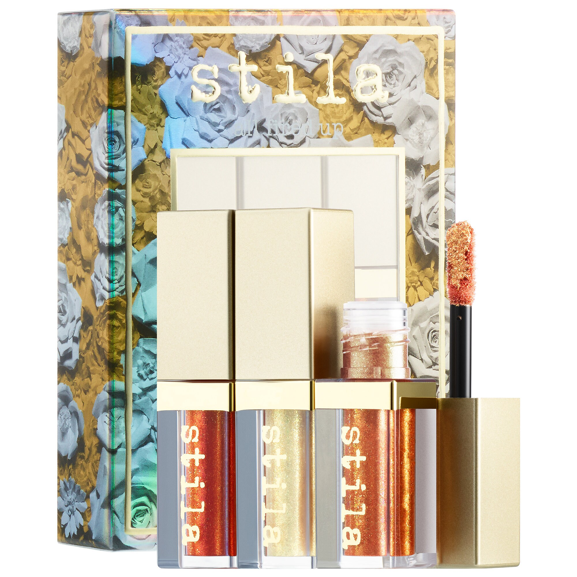 Stila - All Fired Up Glitter & Glow Eye Shadow Set Mini