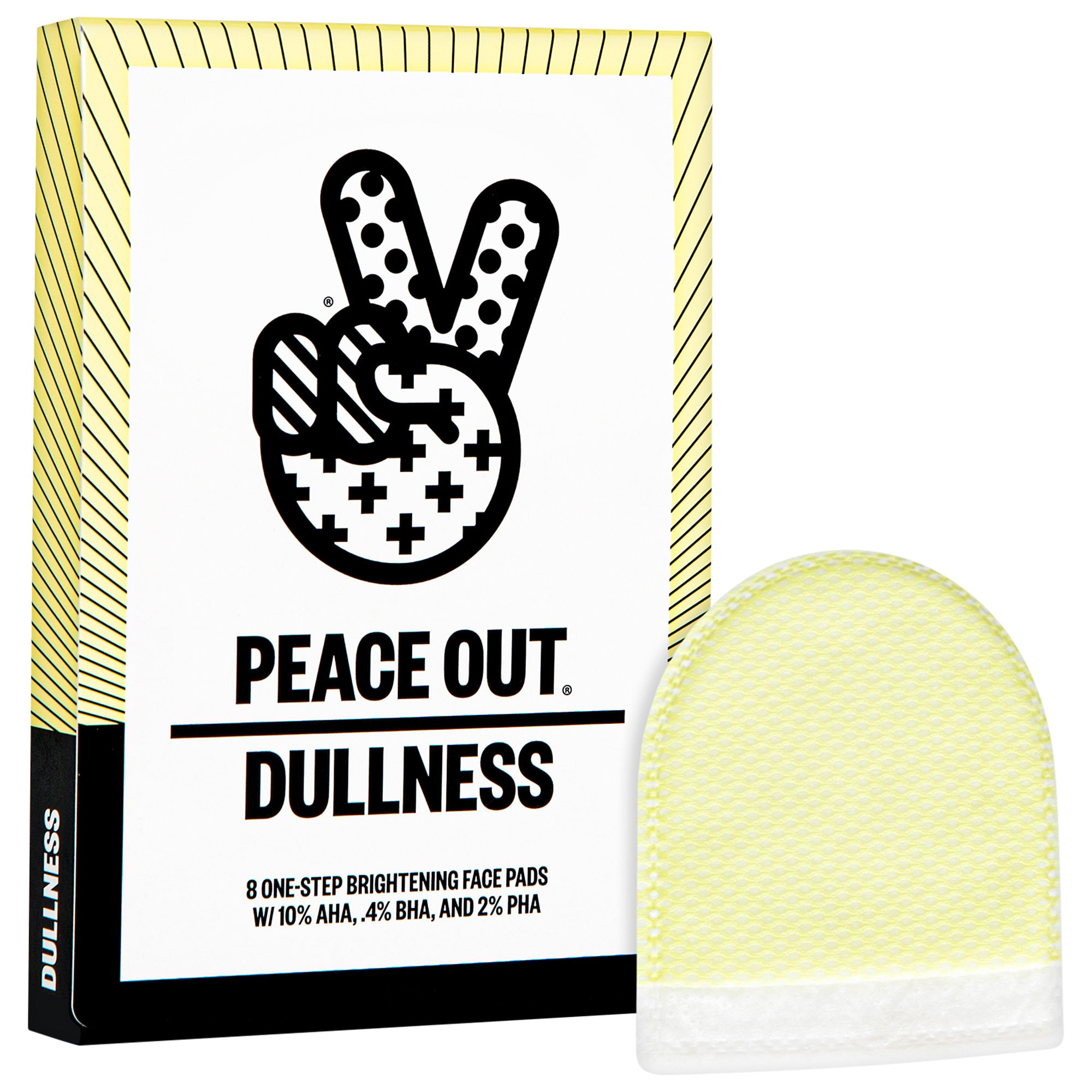 Peace Out - AHA + BHA + PHA Brightening Peel Pads