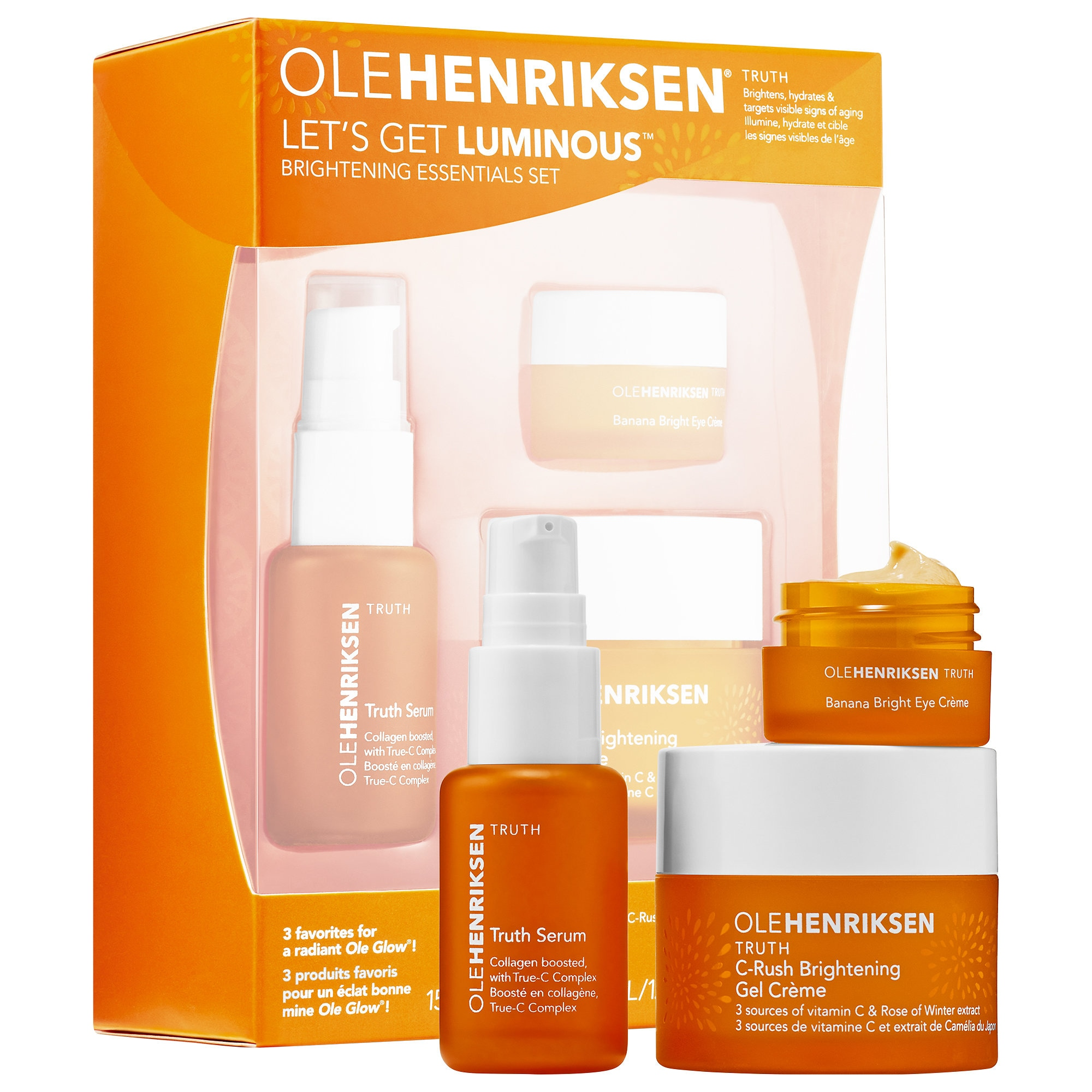 Ole Henriksen Let's Get Luminous™ Brightening Vitamin C Essentials Set