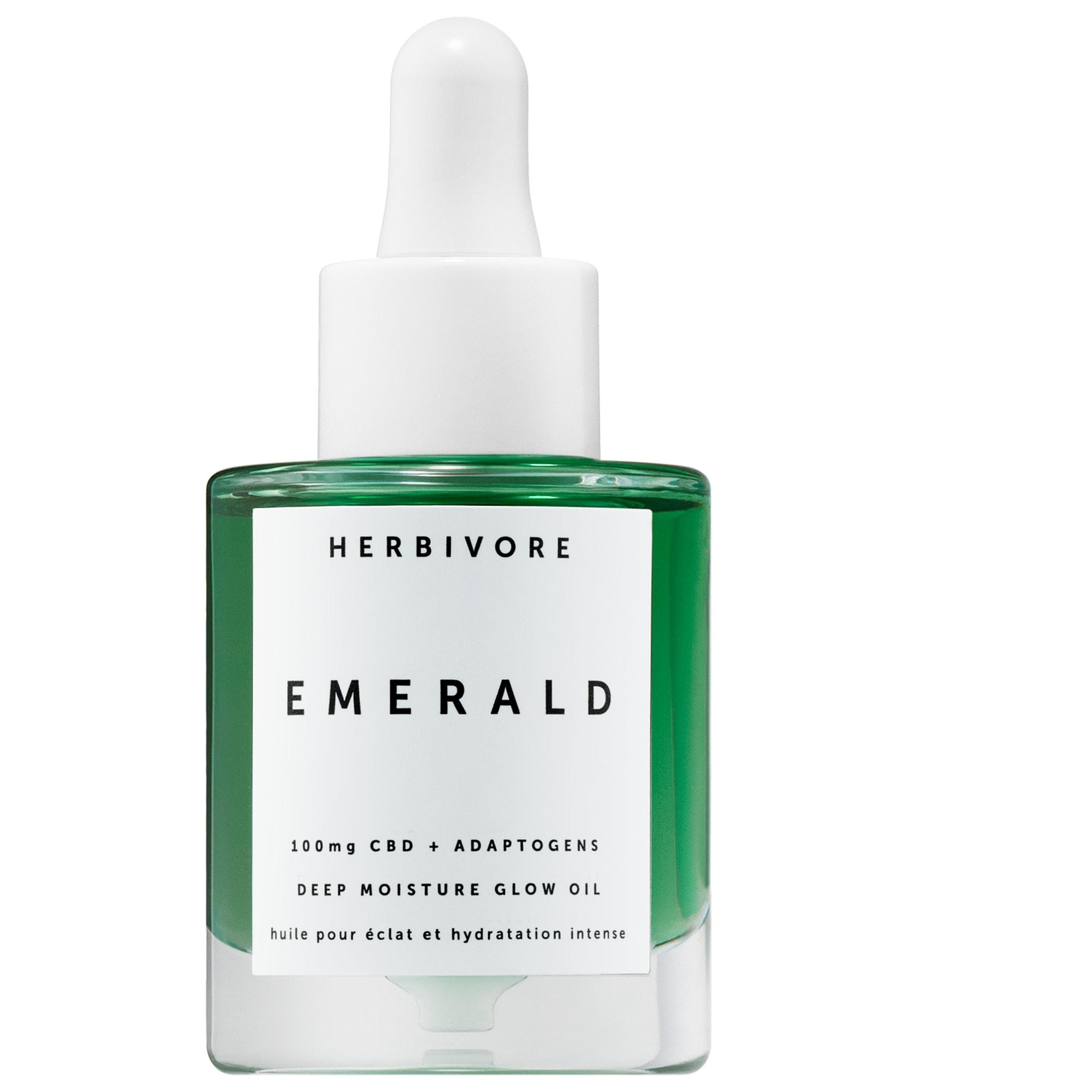 Herbivore - Emerald CBD + Adaptogens Deep Moisture Glow Oil