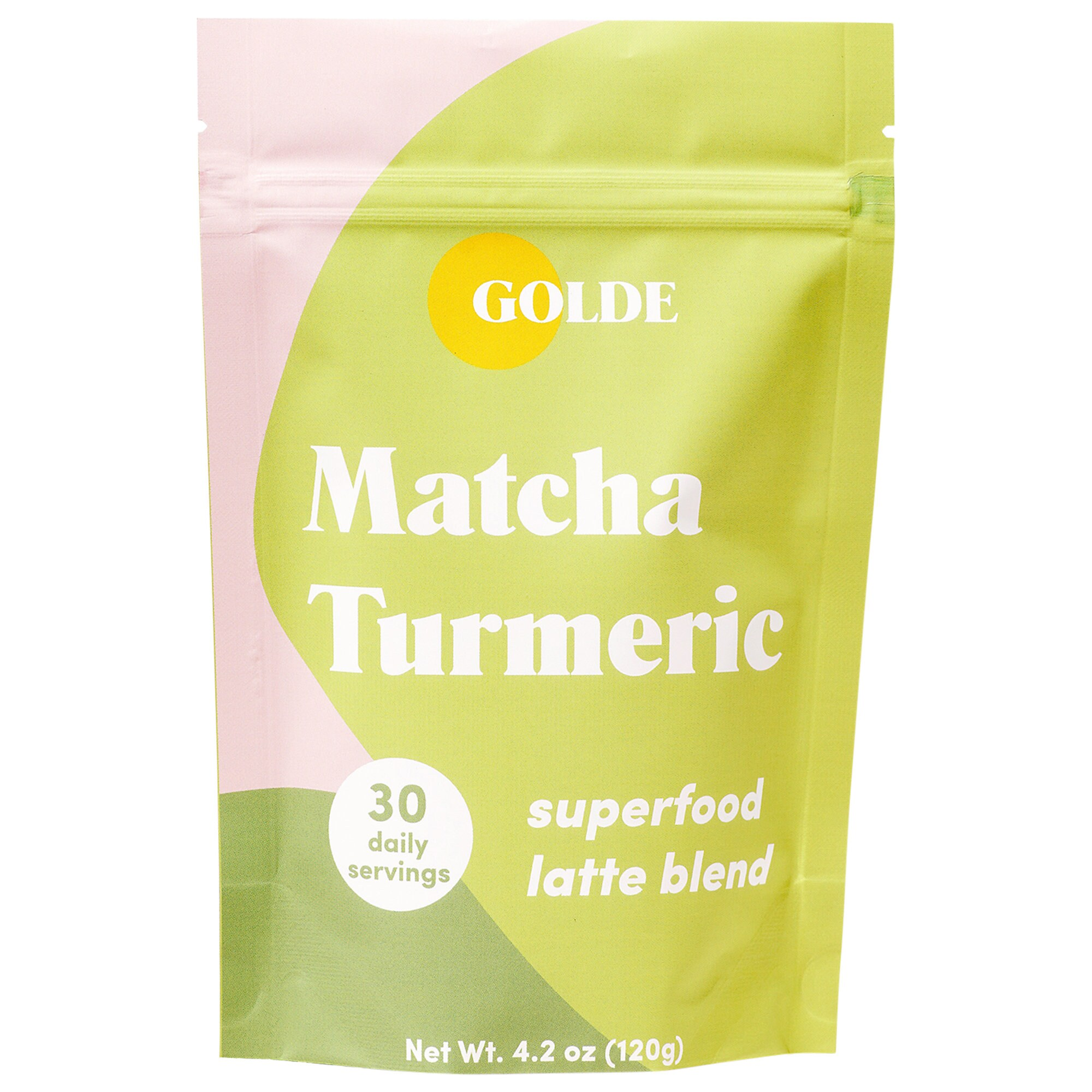 Golde - Matcha Turmeric Latte Blend for skin glow + metabolism