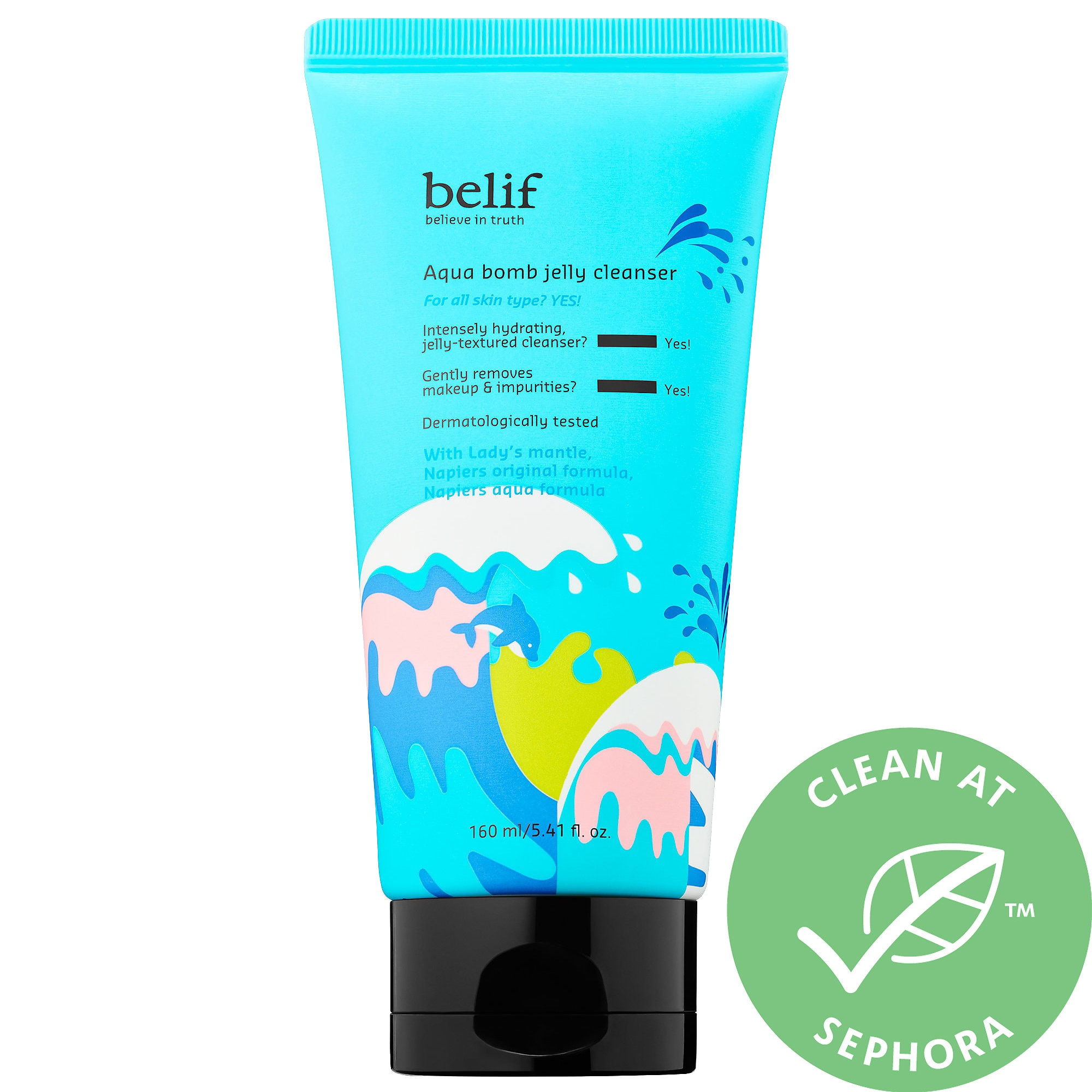 Belif - Aqua Bomb Jelly Cleanser