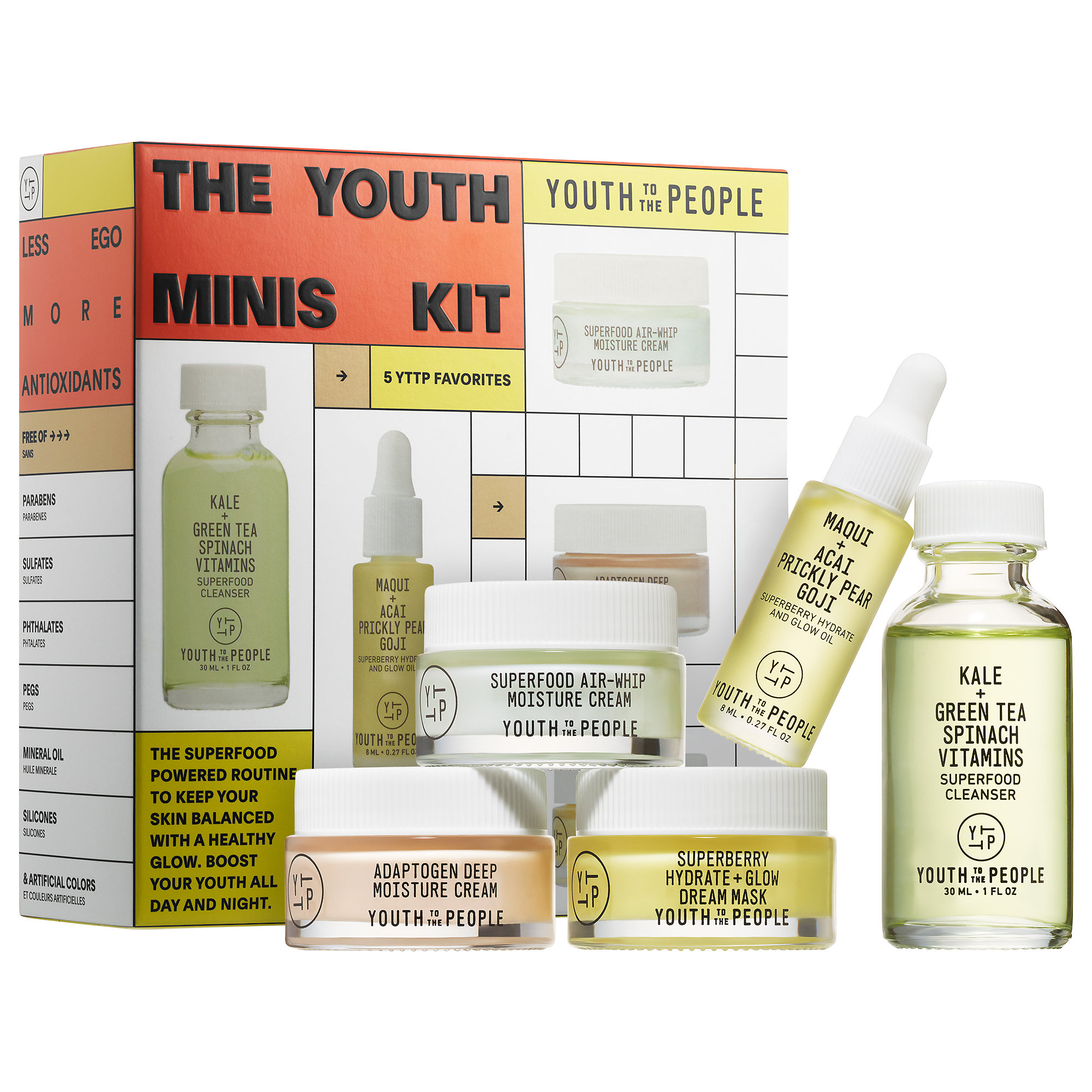 Youth to the People - The Youth Minis Kit
