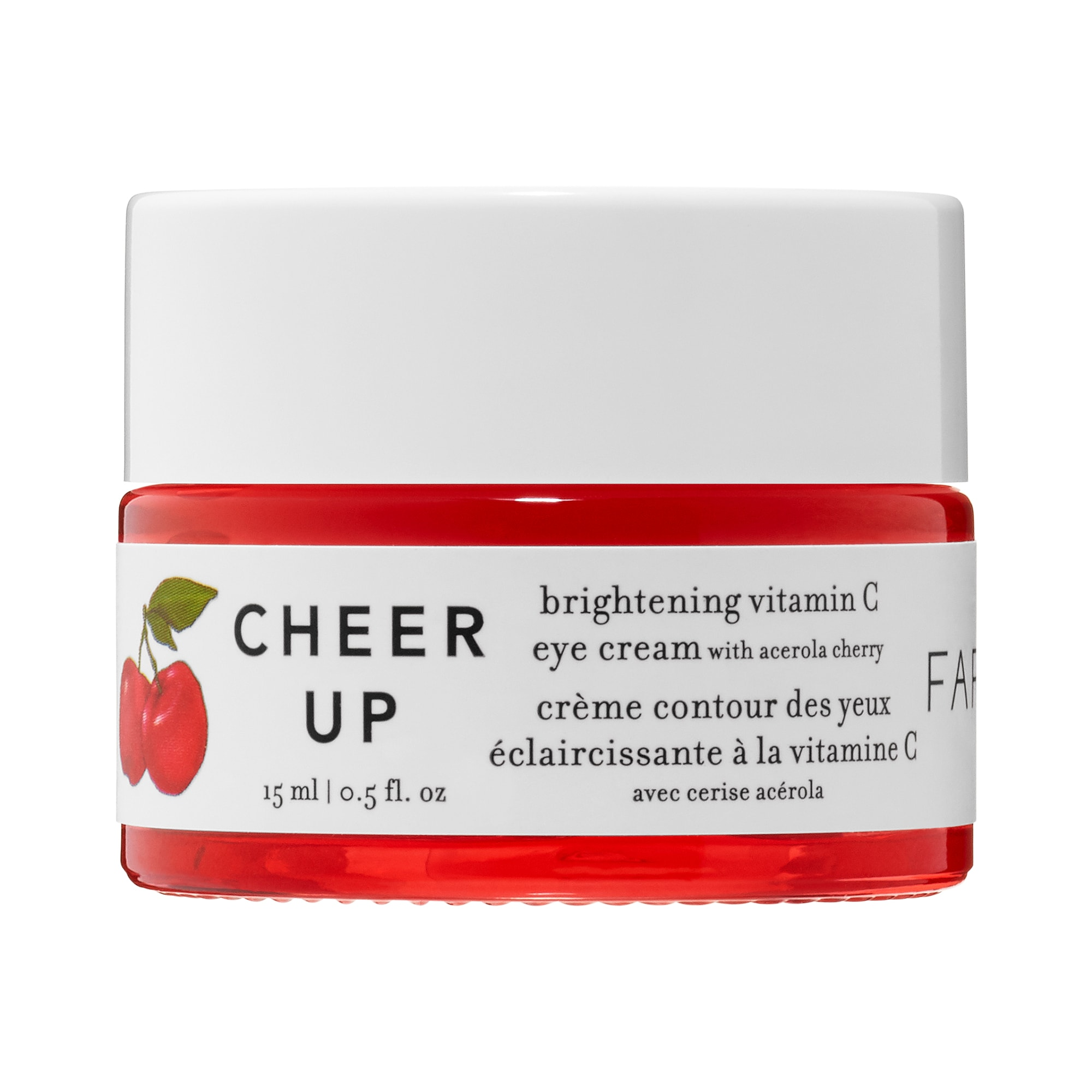 Farmacy - Cheer Up Brightening Vitamin C Eye Cream with Acerola Cherry