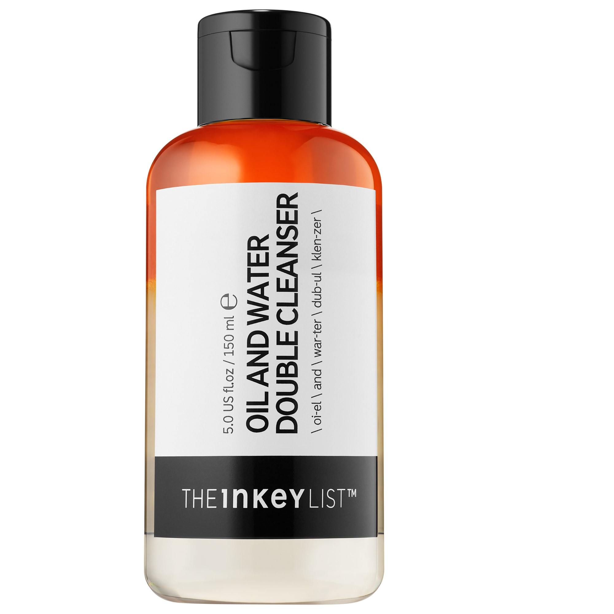 The INKEY List - Oil and Water Double Cleanser