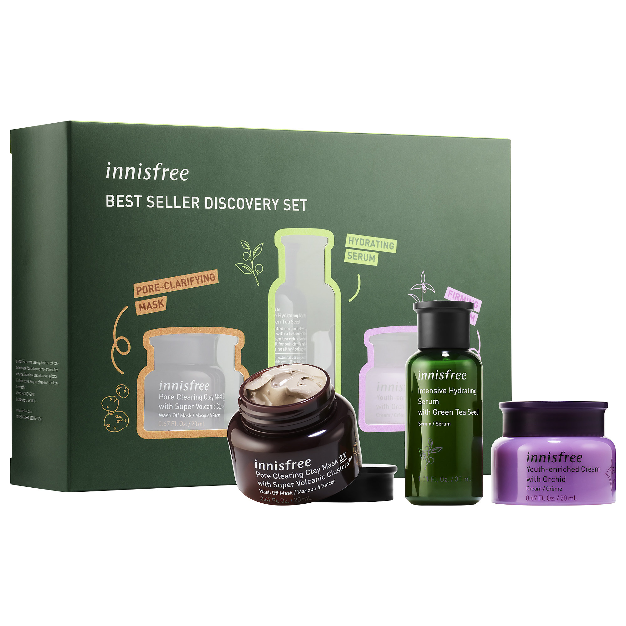 Innisfree - Best Seller Discovery Set