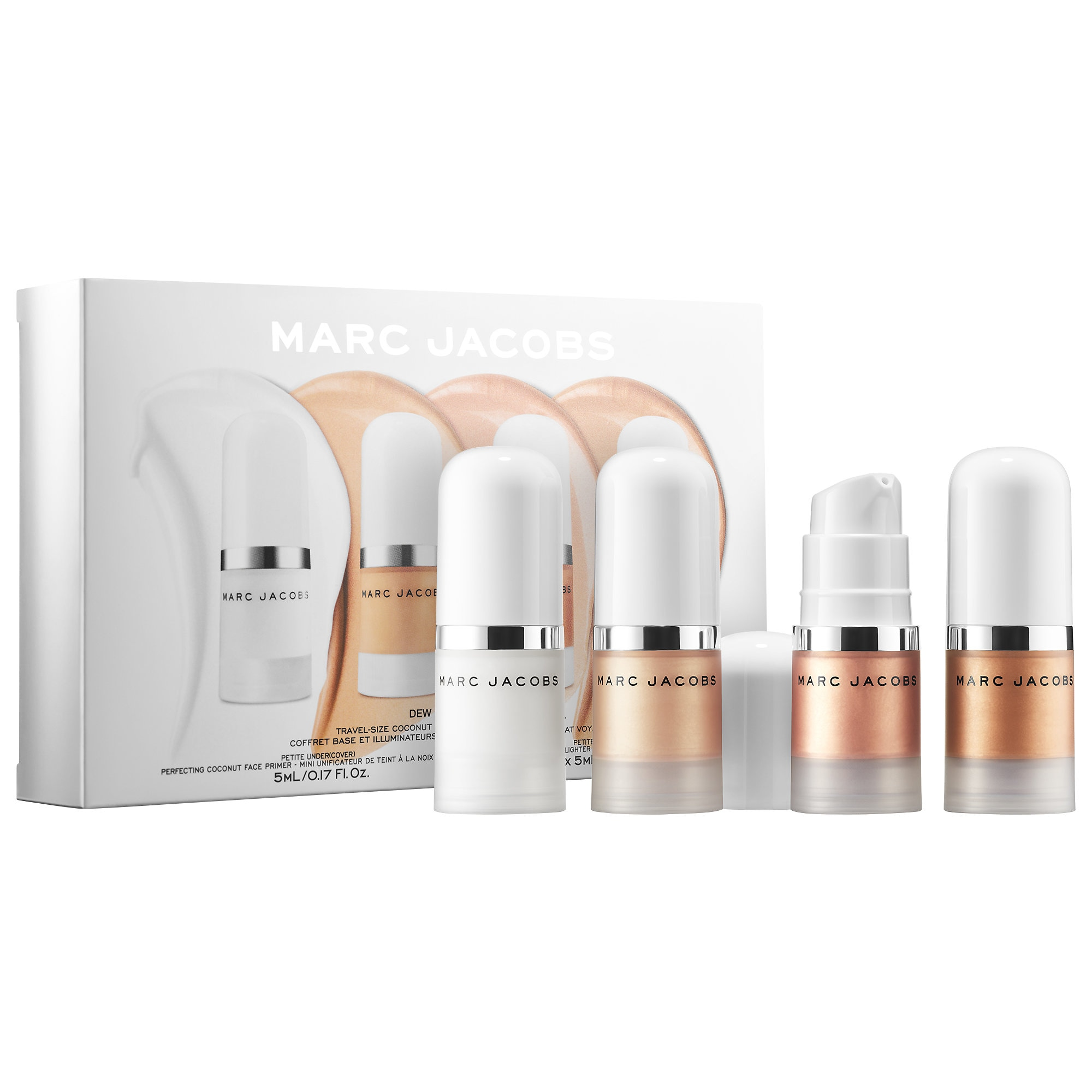 Marc Jacobs - Dew Everything Mini Coconut Gel Highlighter and Primer Set