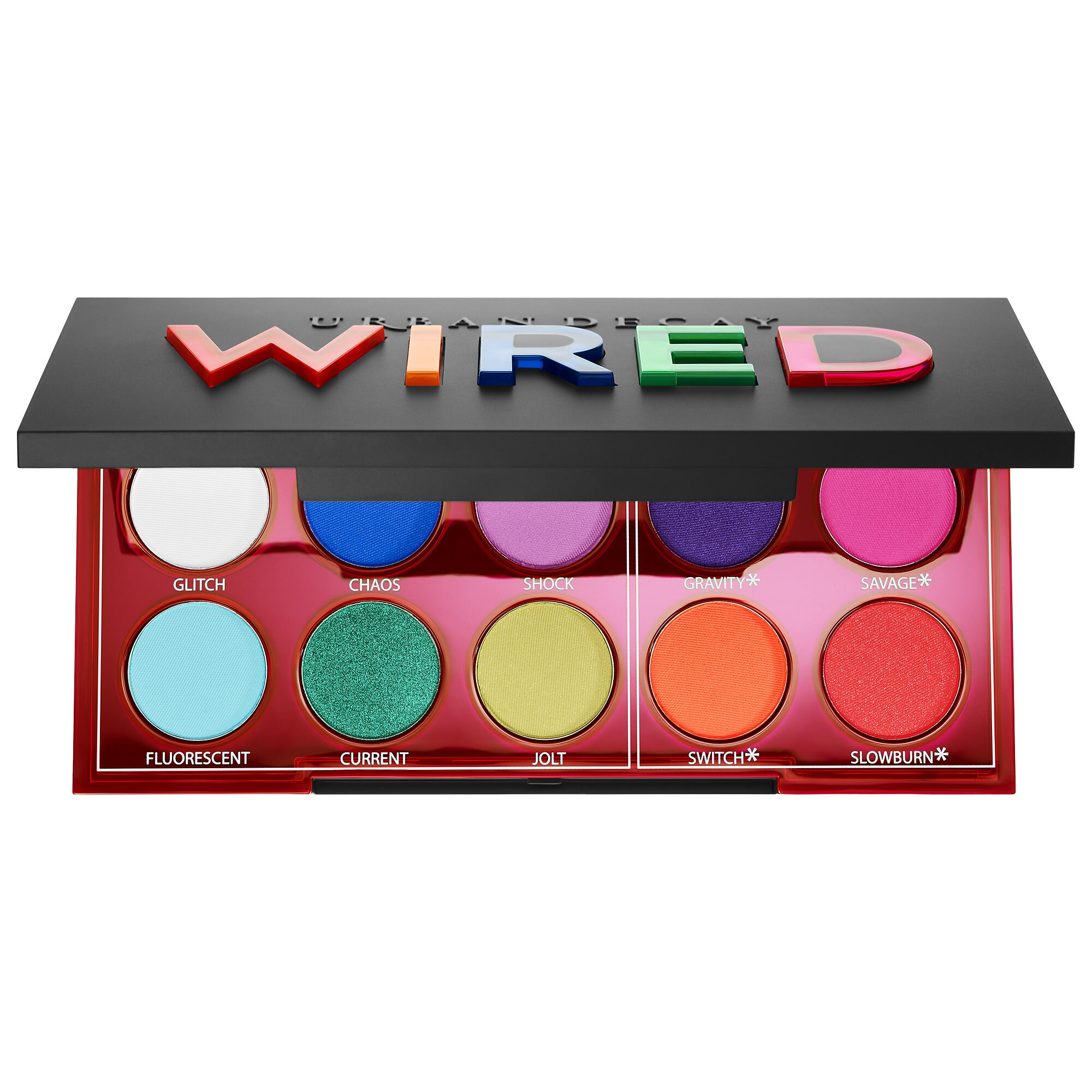 Urban Decay - Wired Pressed Pigment Eyeshadow Palette