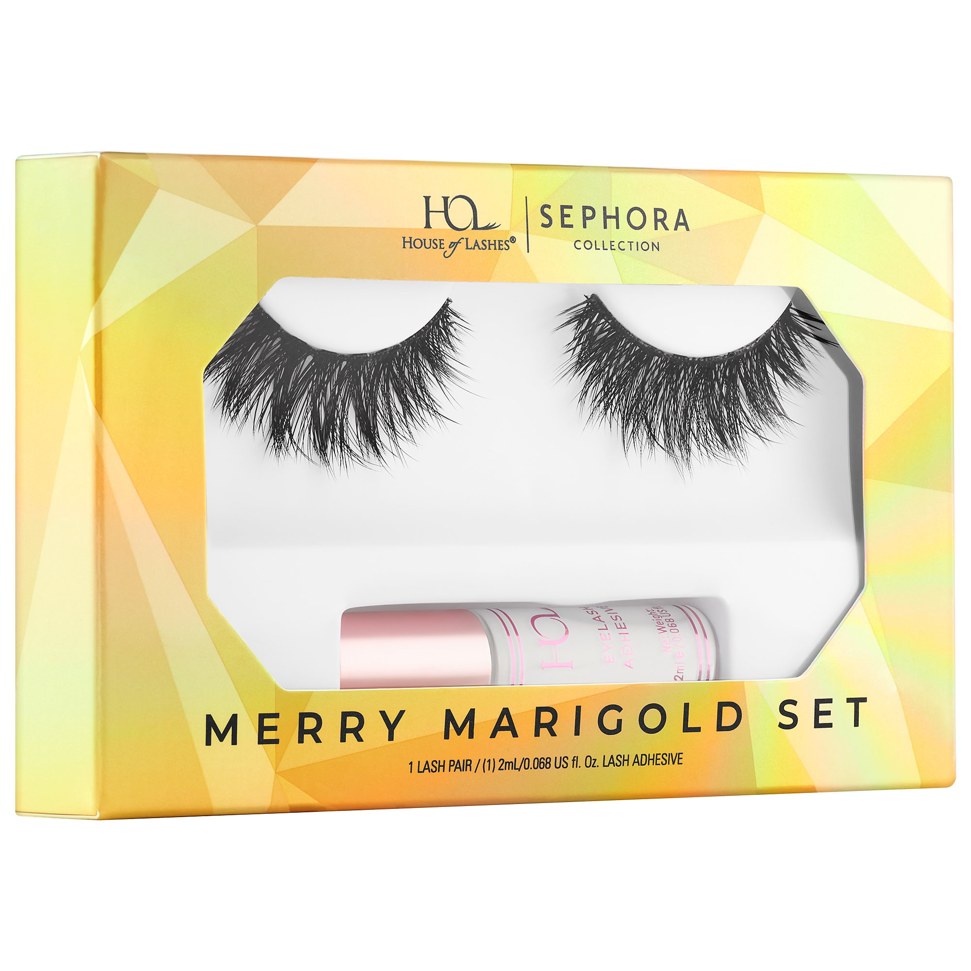 Sephora - House of Lashes x Sephora Collection Merry Marigold Eyelash and Glue Set