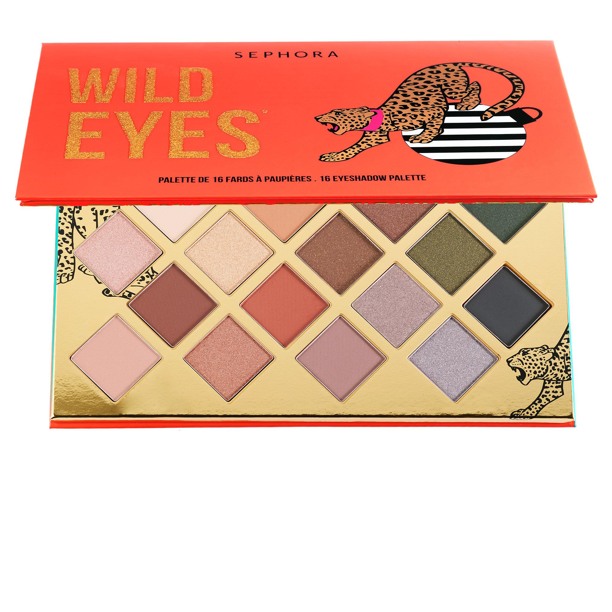 Sephora - Wild Eyes Eyeshadow Palette