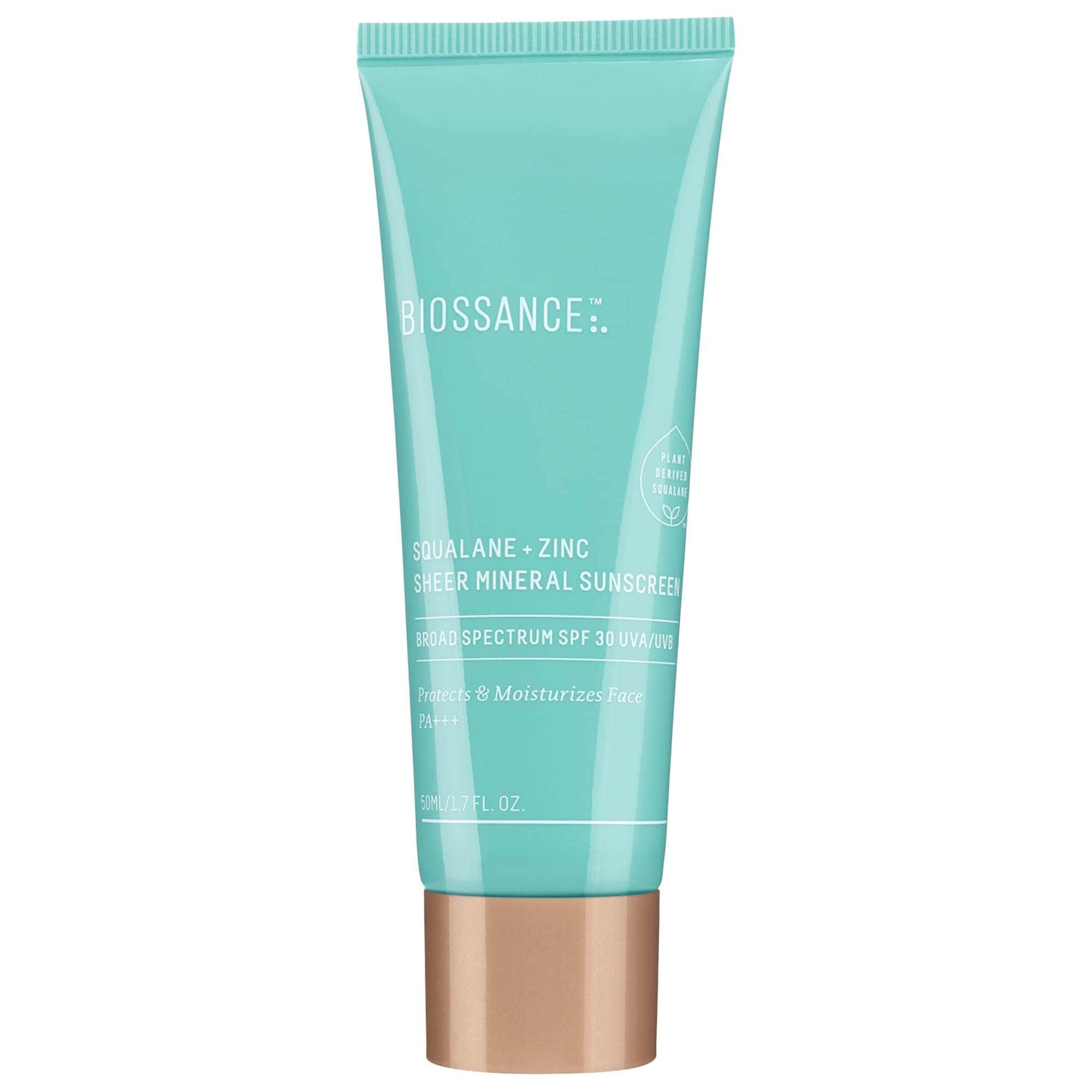 Biossance - Squalane + Zinc Sheer Mineral Sunscreen SPF 30 PA +++