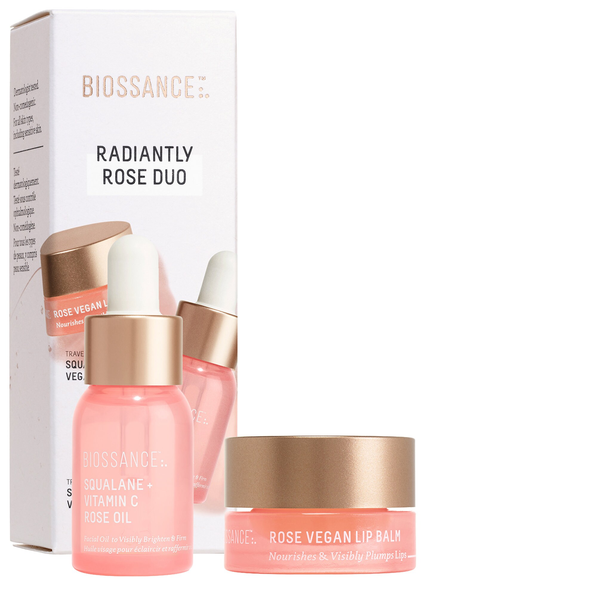 Biossance - Radiantly Rose Duo