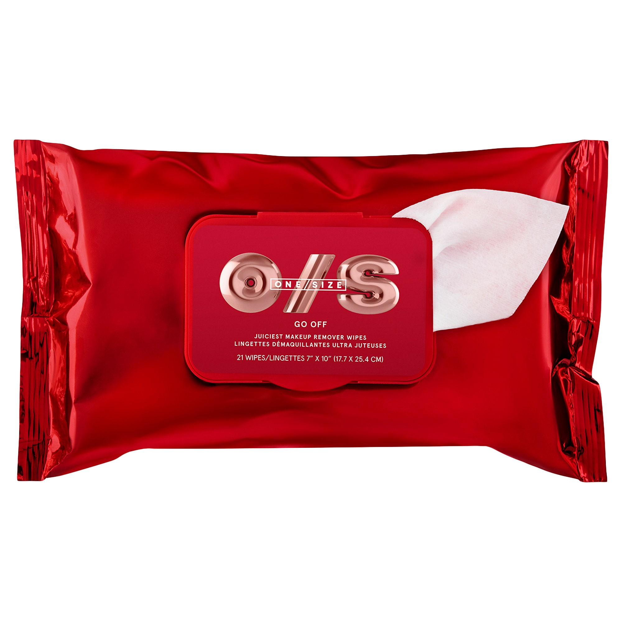 ONE/SIZE by Patrick Starrr - GO OFF Makeup Remover Wipes