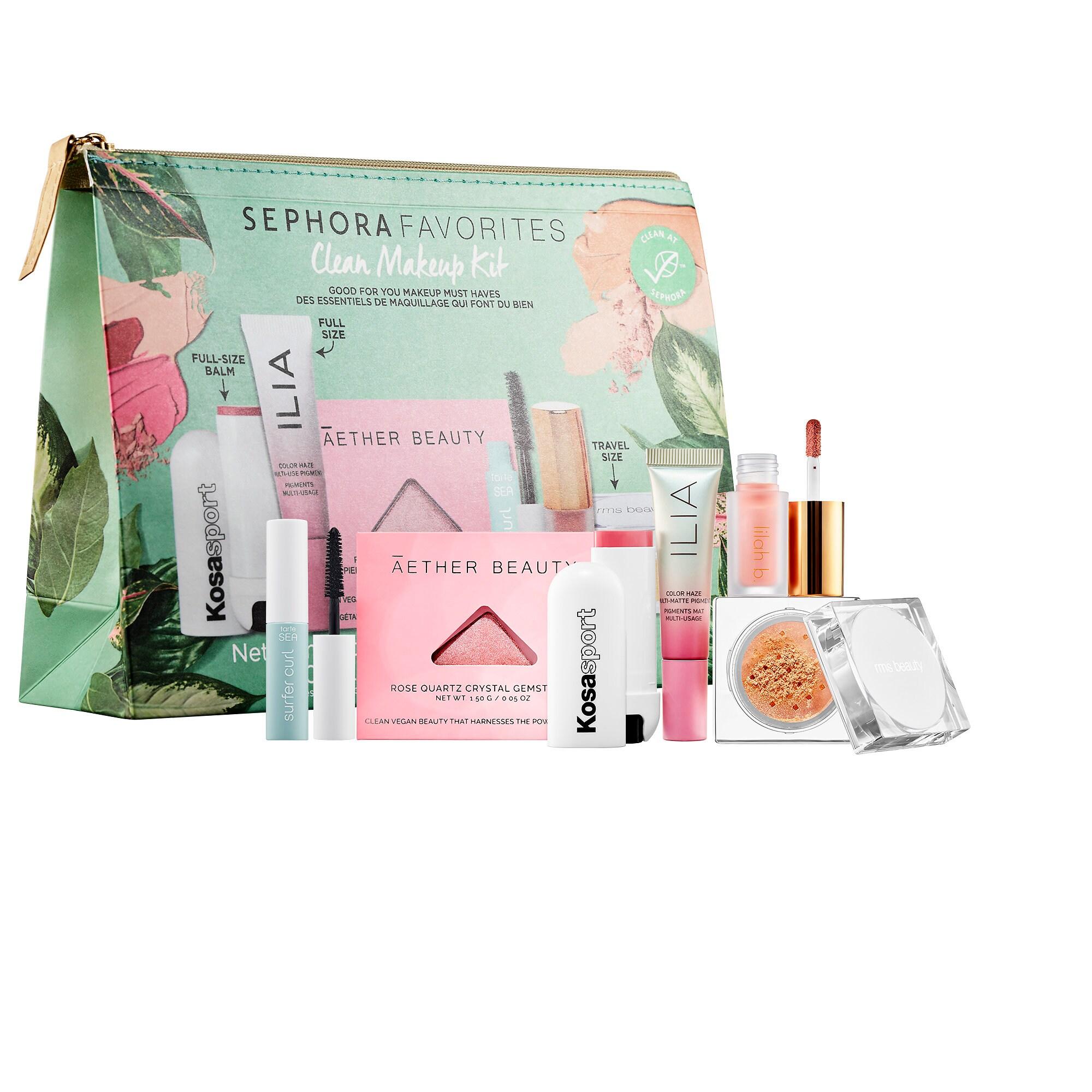 Sephora - Clean Makeup Set