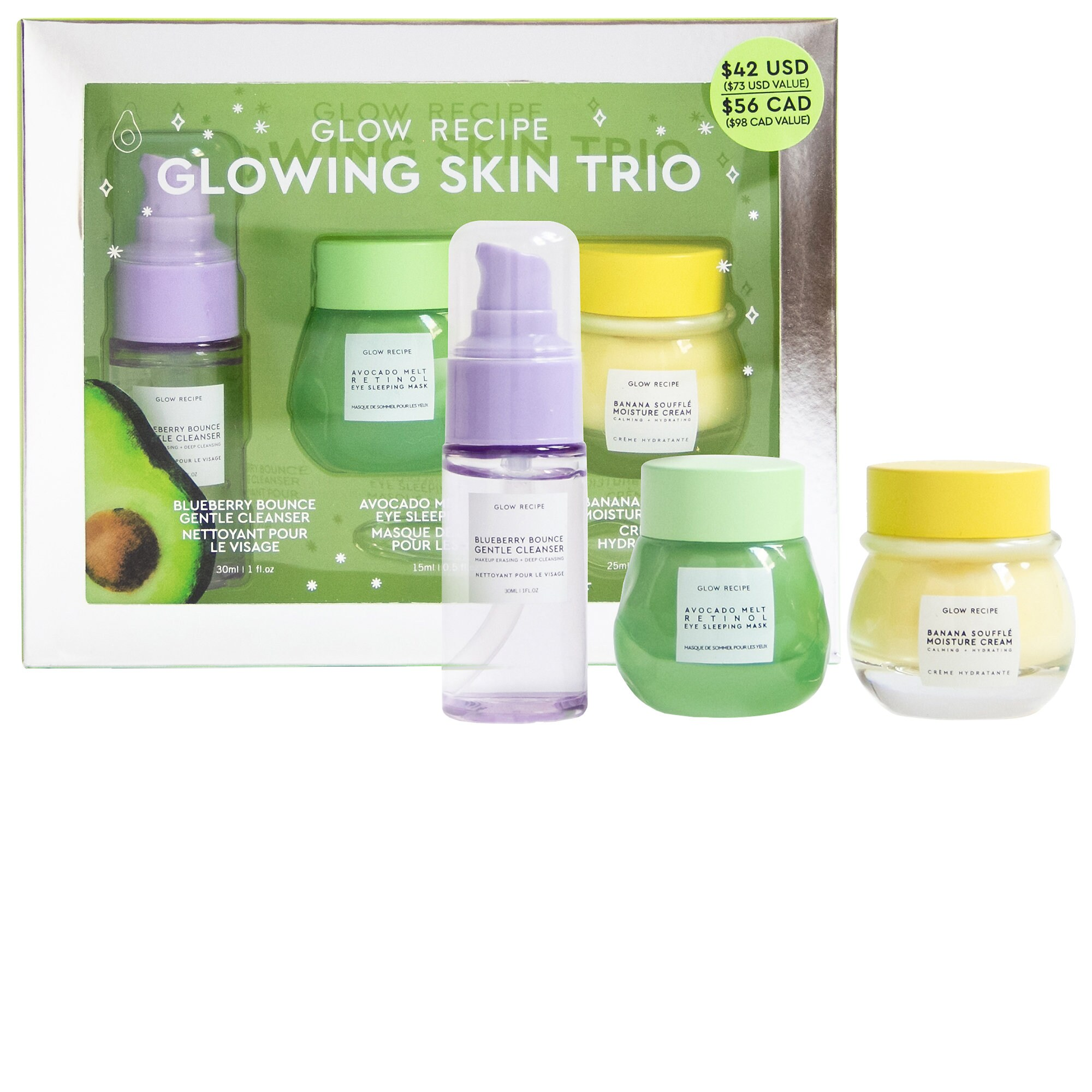 Glow Recipe - Glowing Skin Trio™