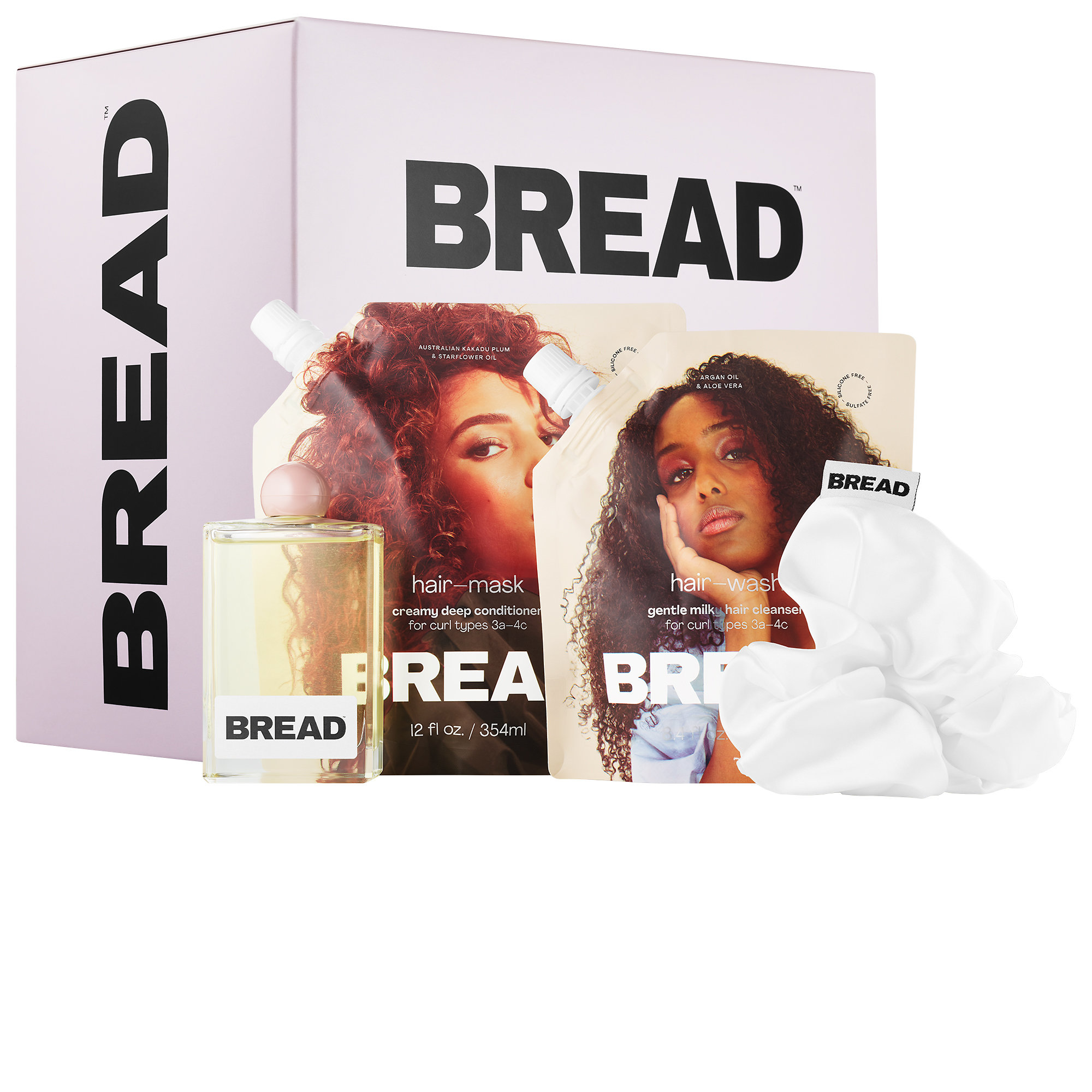 Bread Beauty Supply - Wash-Day Essentials Kit for Curly & Textured Hair