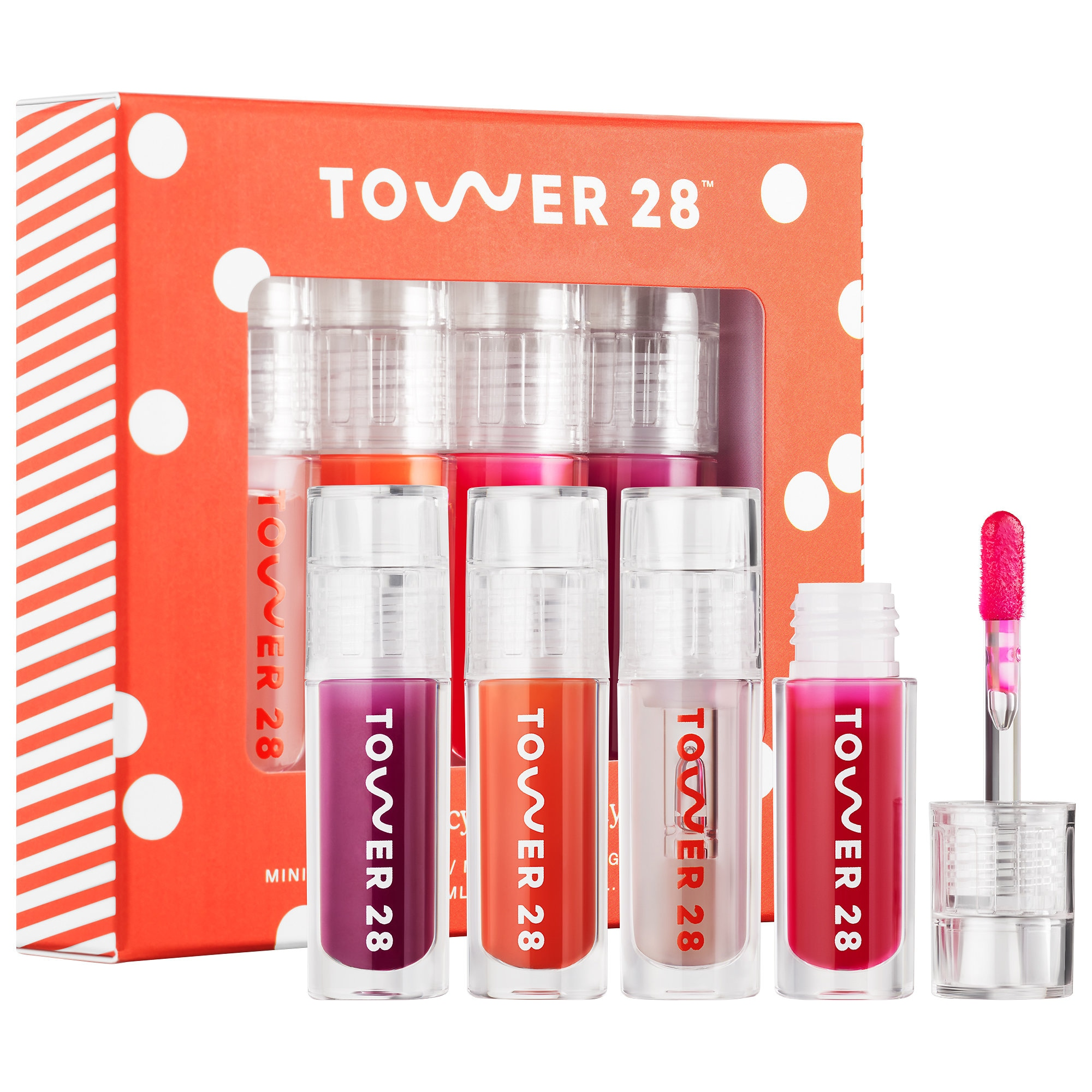 Tower28 Mini Juicy All The Way Lip Jelly Set