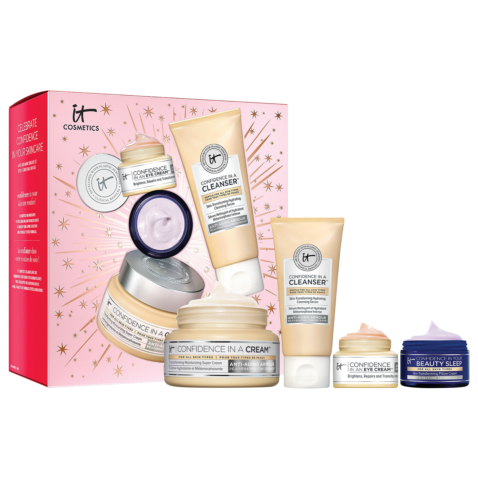 It Cosmetics - Celebrate Confidence In Your Skincare Set