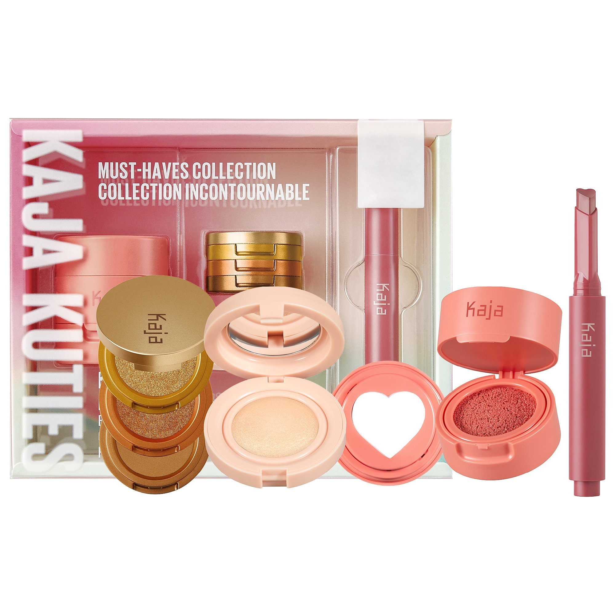 Kaja - Kuties Must-Haves Face and Lip Collection