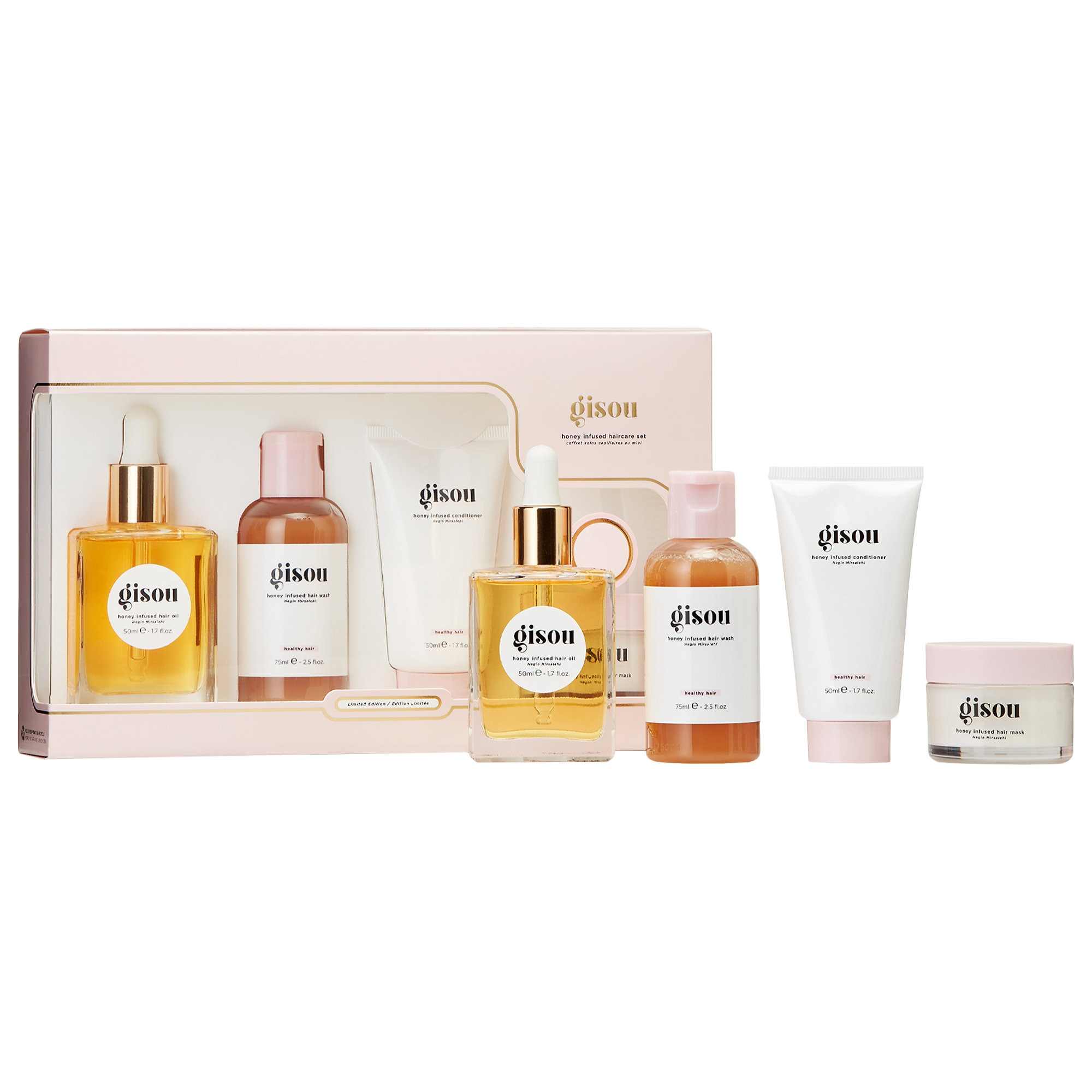 Gisou - Honey Infused Haircare Set