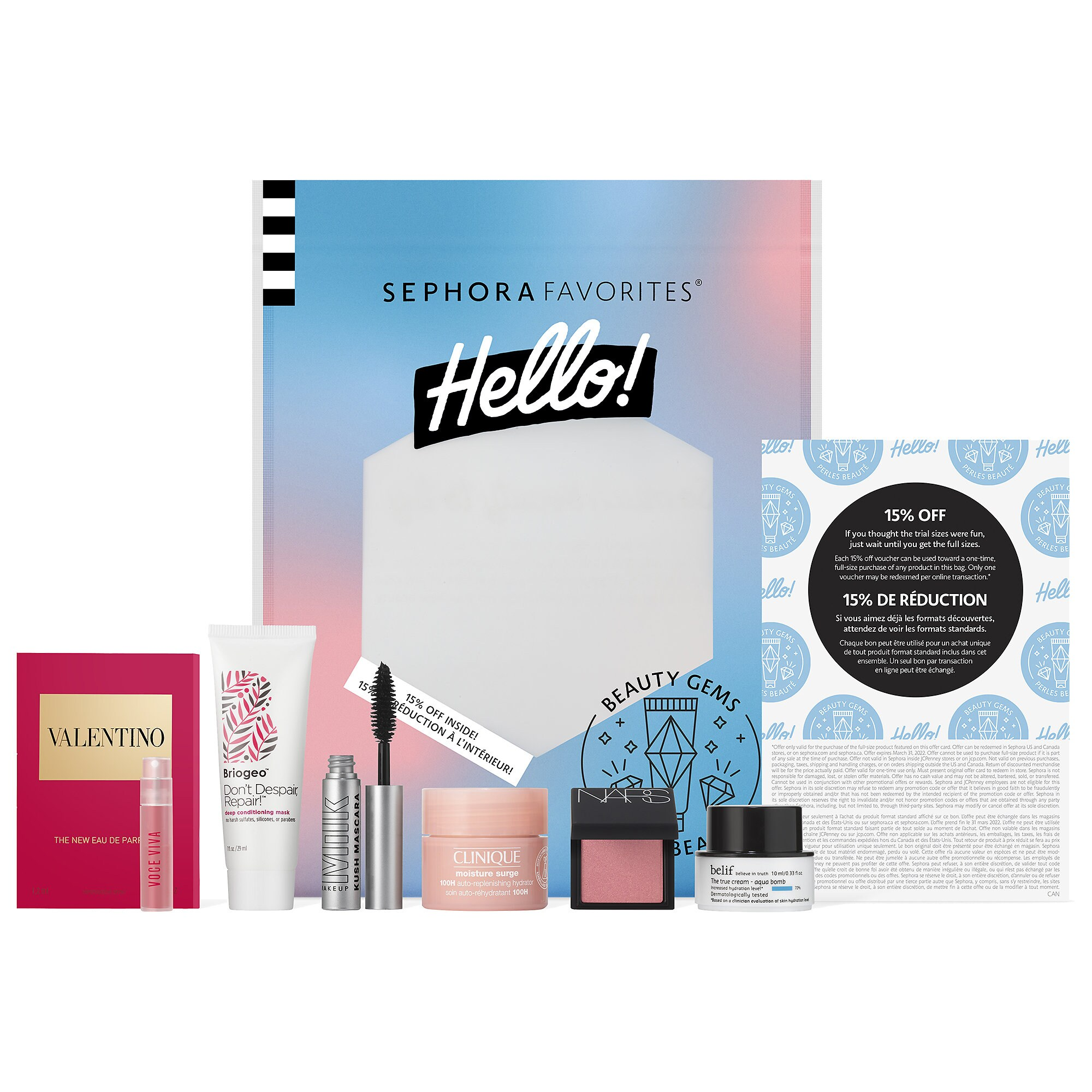 Sephora Hello! Beauty Gems
