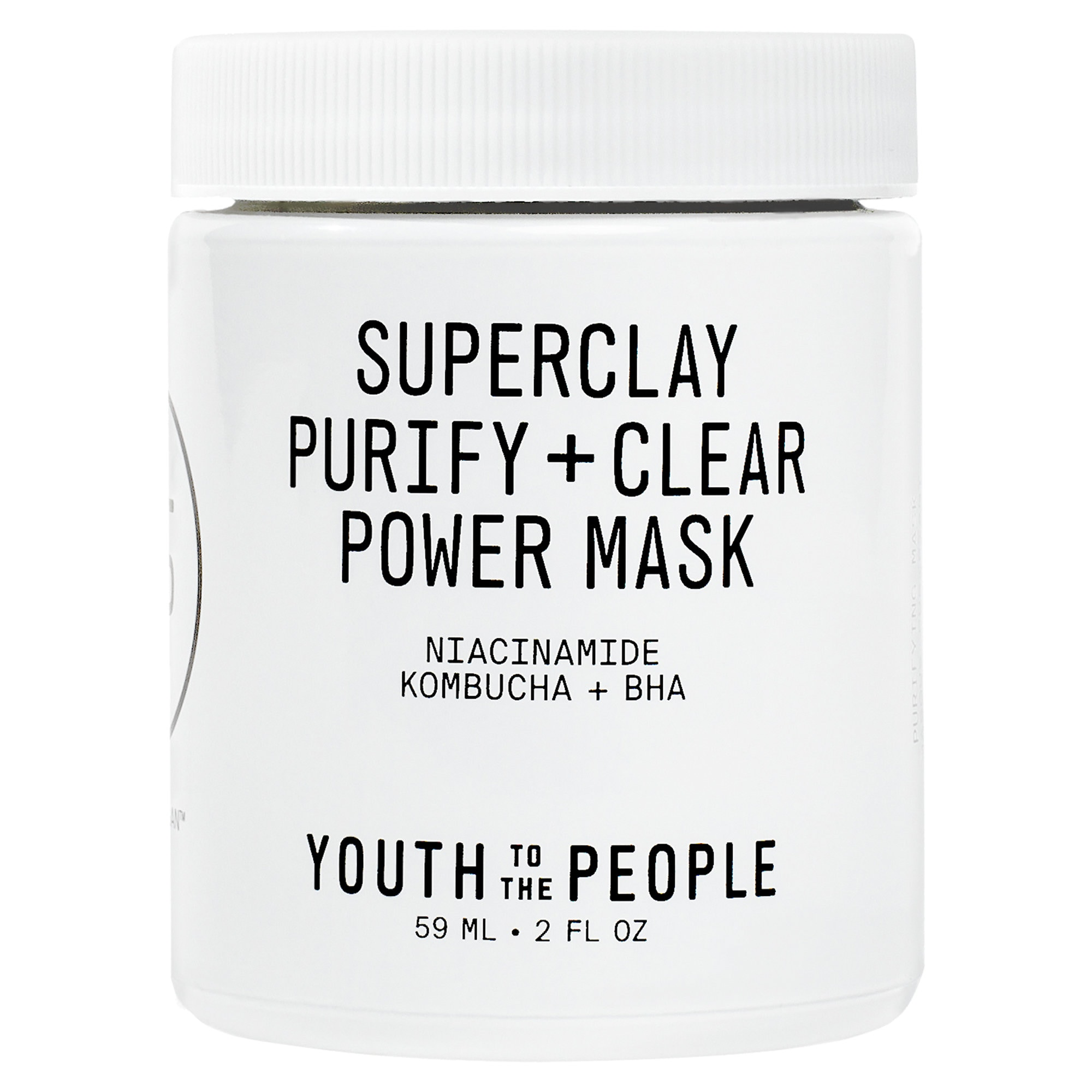 Youth to the People Superclay Purify + Clear Power Mask with Niacinamide