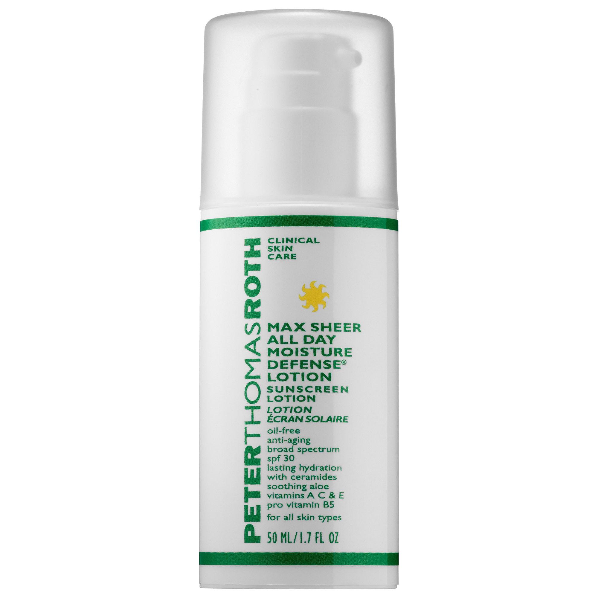 Sephora - Max Sheer All Day Moisture Defense Lotion SPF 30 Sunscreen Lotion - Peter Thomas Roth | Sephora