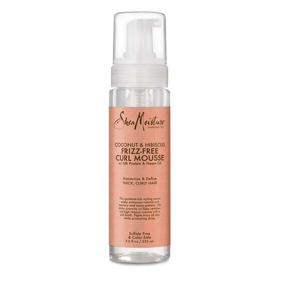 Sheamoisture - Coconut & Hibiscus Frizz-Free Curl Mousse