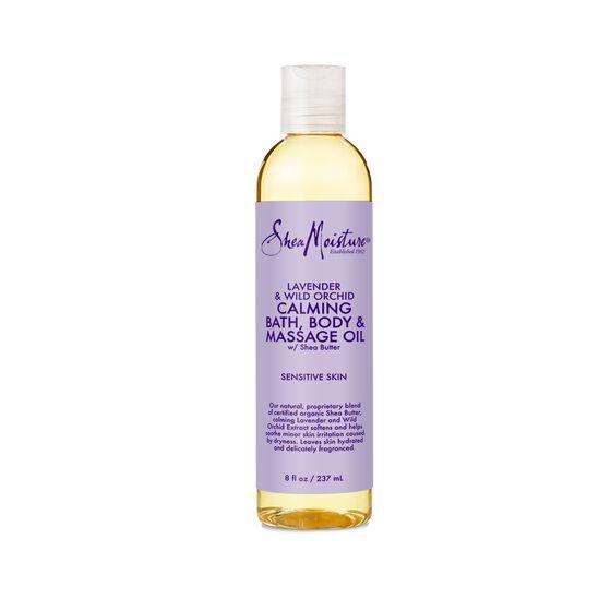 Sheamoisture - Lavender & Wild Orchid Bath, Body & Massage Oil