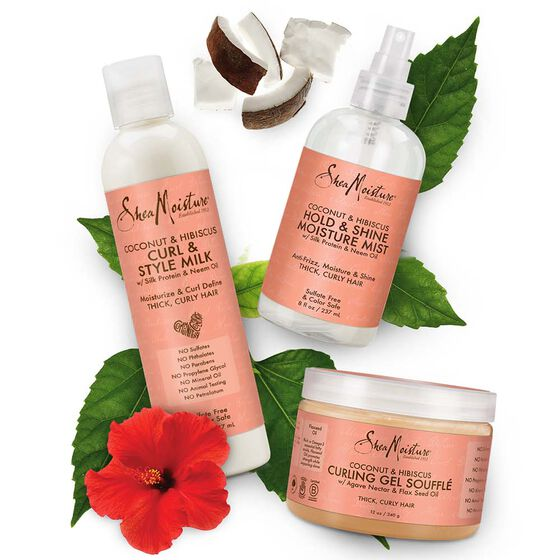 Sheamoisture - Coconut & Hibiscus Curling Gel Souffl̩