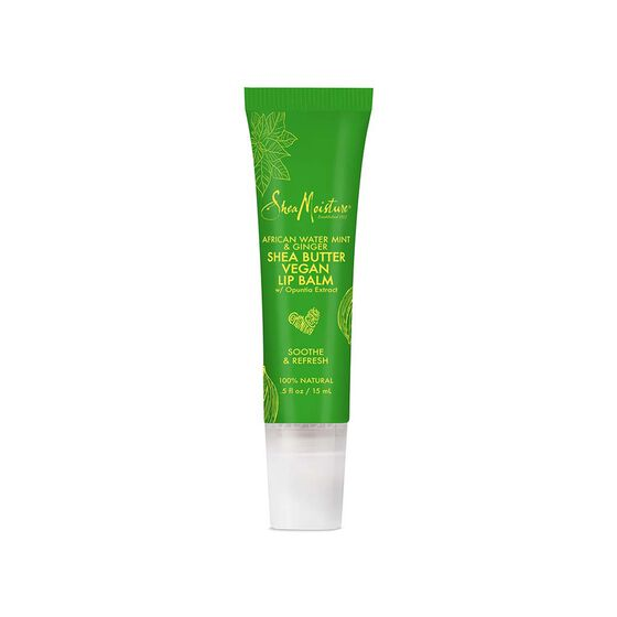 Sheamoisture - African Water Mint & Ginger Shea Butter Lip Balm - Products A Better Way to Beautiful Since 1912.