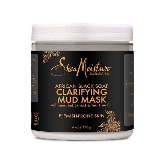 Sheamoisture - African Black Soap Clarifying Mud Mask