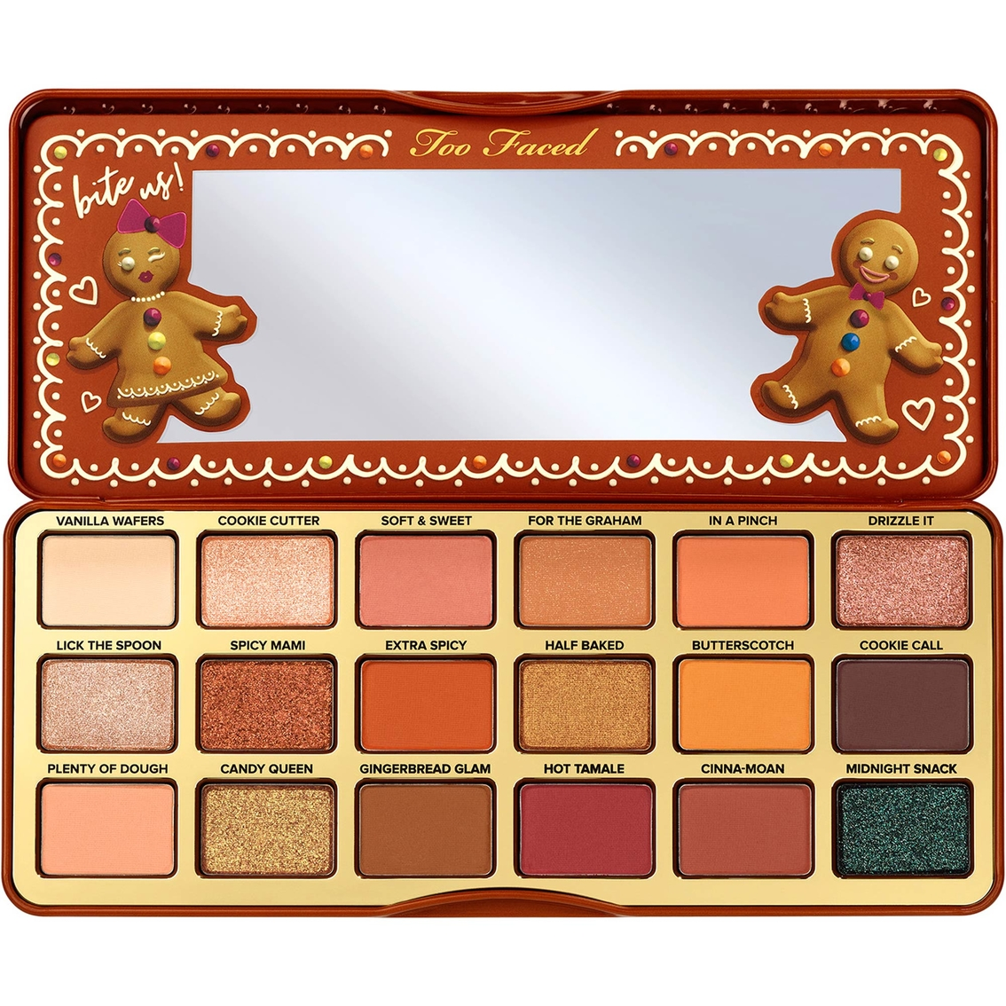 Toofaced - Gingerbread Extra Spicy Eyeshadow Palette